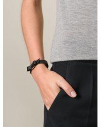 Ferragamo   Black 'Vara' Bow Bracelet   Lyst