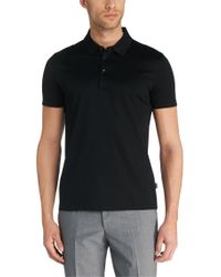 BOSS Black Regular-fit Polo Shirt In Mercerised Cotton: 'genova 27' for men