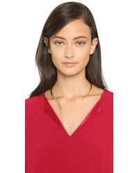 Campbell - Metallic Talon Collar Necklace - Gold - Lyst