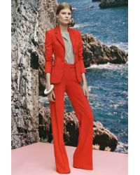 Altuzarra - Red Wide-leg Trousers - Lyst