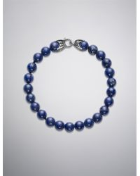 David Yurman - Blue Spiritual Beads Bracelet with Lapis Lazuli for Men - Lyst