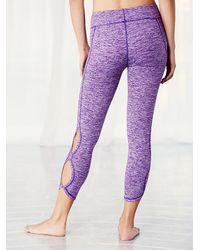 Free People - Purple Infinity Legging Infinity Bra - Lyst