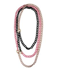 Ki6? Who Are You? - Black Necklace - Lyst
