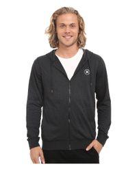Hurley - Black Dri-fit League Zip Fleece for Men - Lyst