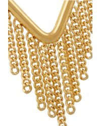 Marc By Marc Jacobs - Metallic Beat It Gold-plated Earrings - Lyst