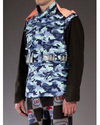 Bernhard Willhelm | Blue Camouflage Jacket for Men | Lyst