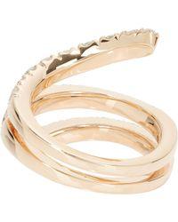 Roberto Marroni | Metallic Diamond & Red Gold Snake Ring | Lyst