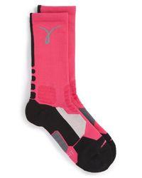 Nike - Pink 'hyper Elite' Dri-fit Basketball Socks - Lyst