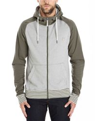 Bench - Gray Penarth Colorblock Hoodie for Men - Lyst