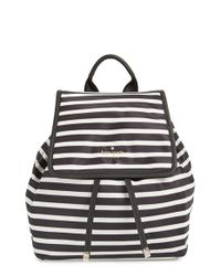 kate spade new york | Black 'molly' Nylon Backpack | Lyst
