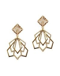 Lulu Frost | Metallic Portico Statement Earring | Lyst