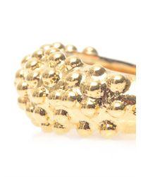 Balenciaga | Metallic Bubble Track Ring | Lyst