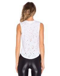 Koral Activewear - White Rei Muscle Tank - Lyst