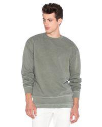 John Elliott - Green Oversized Crewneck Pullover for Men - Lyst