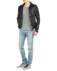 Giorgio Brato - Leather Jacket - Black for Men - Lyst