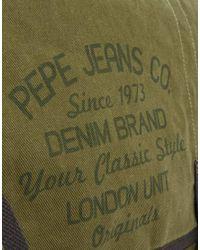 Pepe Jeans | Green Messenger Bag for Men | Lyst