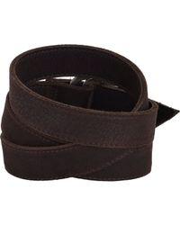 Hoorsenbuhs | Brown Leather Wrap Bracelet | Lyst