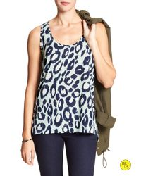 Banana Republic | Multicolor Factory Print Layering Tank | Lyst