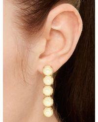 kate spade new york - Metallic Fancy That Linear Earrings - Lyst