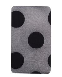 kate spade new york | Black Gigantic Swiss Dot Tight | Lyst