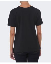 Vivienne Westwood Anglomania | Black Studded Orb T-shirt | Lyst
