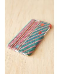 Urban Outfitters - Blue Uo Custom Iphone 6 Case - Lyst