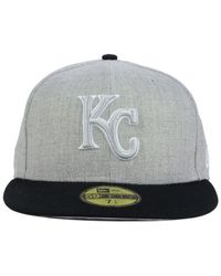 KTZ - Gray Kansas City Royals The Eaton 59fifty Cap for Men - Lyst