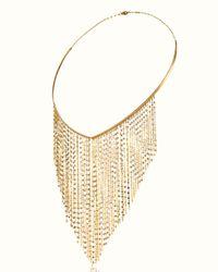 Lana Jewelry - Metallic 14k Gold Fringe Choker Necklace - Lyst