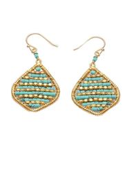 Nakamol | Blue Cyra Earrings-turquoise | Lyst