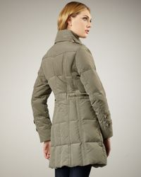 Bogner | Green Celia Down Coat | Lyst