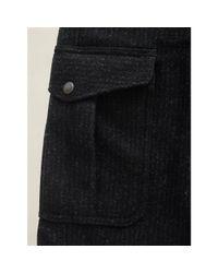 RRL | Black Hudson Cargo Pant for Men | Lyst