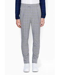 3.1 Phillip Lim - Black Tapered Single Pleat Trouser for Men - Lyst