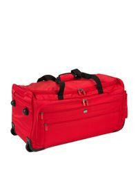 Delsey | Red Helium Sky 2.0 2-wheel Trolley Duffel Bag- 28 In. | Lyst