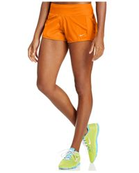 Nike | Orange Crew Dri-fit Shorts | Lyst