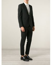 Saint Laurent - Black Slim Fit Two-piece Suit for Men - Lyst