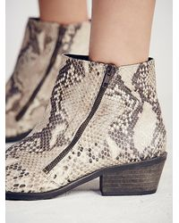 Free People | Multicolor Fp Collection Womens Crossings Ankle Boot | Lyst