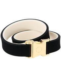 Marc By Marc Jacobs | Black Key Items Snap It Up Silicone Bracelet | Lyst