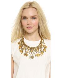 Erickson Beamon - Metallic My Beloved Charm Lariat Necklace - Gold - Lyst