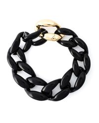 Moschino | Black Chunky Chain Necklace | Lyst