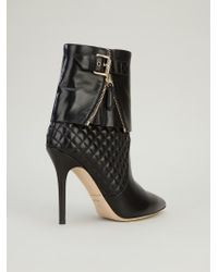 Brian Atwood - Black 'dea' Ankle Boot - Lyst