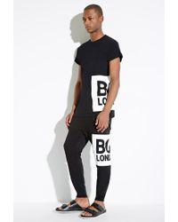 Forever 21 - Black Boy London Box Logo Tee for Men - Lyst