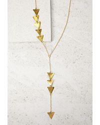 Forever 21 | Metallic Soko Hamsa Dangle Necklace | Lyst
