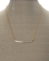 T Tahari - Metallic Gold-Tone Delicate Necklace - Lyst