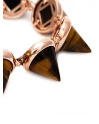 Eddie Borgo | Pink Gemstone Cone Bracelet | Lyst