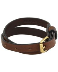 Frye - Brown Wrap Cuff - Lyst