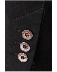 BOSS Orange Black Regular-fit Jacket In Textured Stretch Cotton Blend: 'benestretch1-w' for men