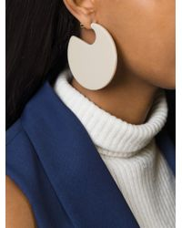 Marni | Natural Round-shaped Earrings | Lyst