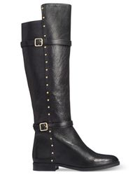 INC International Concepts | Black Ameliee Wide Calf Riding Boots, Only At Macy's | Lyst