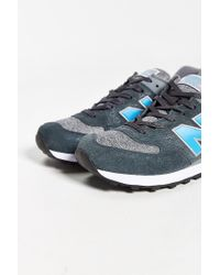 New Balance | Blue 574 Sweatshirt Running Sneaker for Men | Lyst