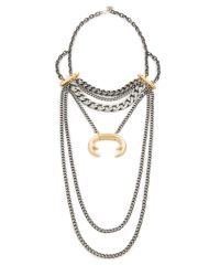 Laura Cantu | Metallic Layered Statement Necklace | Lyst